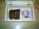 Is that Kevin Slaten\'s Image on a piece of toast ?