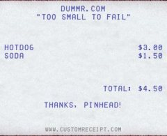 Fake Receipt Maker Cool Site DUMMRcom - Fake reciept maker
