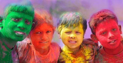 Holi-in-India